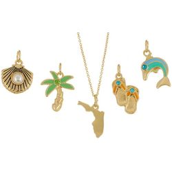Bay Studio Multiples 5-pc. Coastal Florida Necklace Set