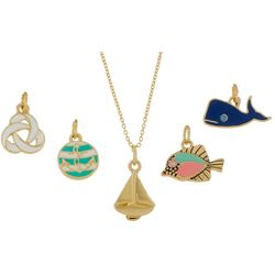 Bay Studio Multiples 5-pc. Nautical Pendant & Necklace Set