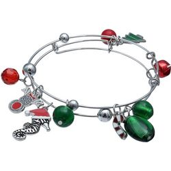 Brighten the Season 2-pc. Seahorse Holiday Bracelet Set
