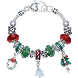 Brighten the Season Holiday Slider Beads & Charms Bracelet