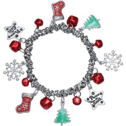 Brighten the Season Holiday Peace On Earth Charm Bracelet