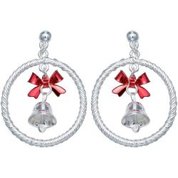 Brighten the Season Holiday Bell Drop Earrings