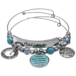 Jules B Follow Your Dreams Bangle Bracelet Set