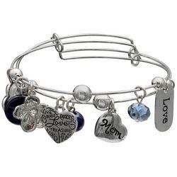 Jules B 2-pc. Mom Love Treasure Charm Bangle Bracelet Set