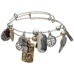 Jules B 2-pc. Best Friends Be Amazing Bangle Bracelet Set