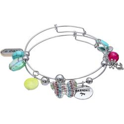 Jules B Hope & Be The Change Butterfly Bangle Set