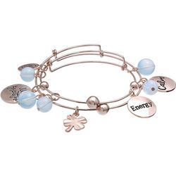 Jules B 2-pc. Clarity Just Breathe Bangle Bracelet Set