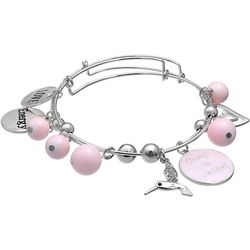Jules B 2-pc. Love Be Positive Charm Bangle Bracelet Set