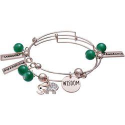 Jules B 2-pc. Prosperity Success Bangle Bracelet Set