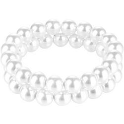 Jones New York 2 Row Pearl Stretch Bracelet Set
