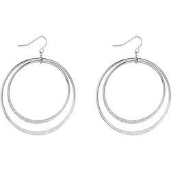 Jones New York Double Ring Drop Earrings