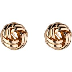 Jones New York 20MM Gold Tone Knot Clip Earring