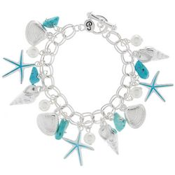 PIPER MADISON Shell & Starfish Charm Bracelet