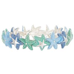 PIPER MADISON Blue & Green Starfish Bracelet
