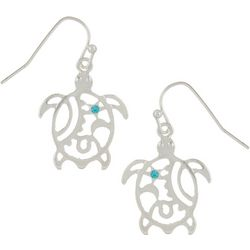 PIPER MADISON Open Cutout Sea Turtle Earrings