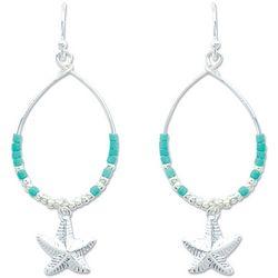 PIPER MADISON Teardrop Starfish Dangle Earrings