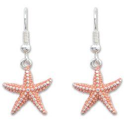 PIPER MADISON Coral Starfish Dangle Earrings