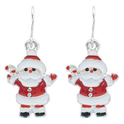PIPER MADISON Holiday Santa Claus Earrings