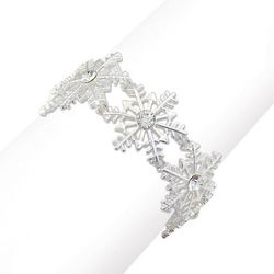 PIPER MADISON Holiday Snowflake Stretch Bracelet
