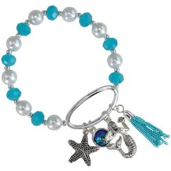 PIPER MADISON Mermaid Tassel Charm Bracelet