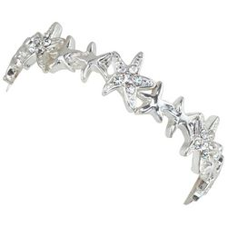 PIPER MADISON Silver Tone Starfish Bracelet