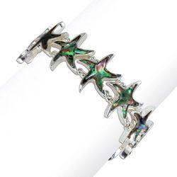 PIPER MADISON Abalone Shell Starfish Bracelet