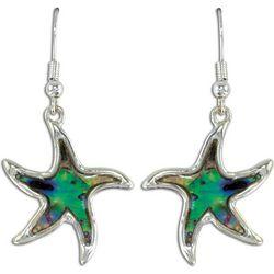 PIPER MADISON Abalone Shell Starfish Drop Earrings