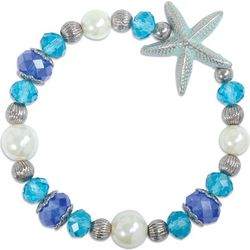 PIPER MADISON Beaded Starfish Stretch Bracelet