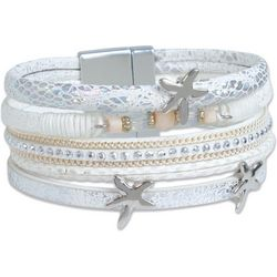 PIPER MADISON Multi Row Starfish Magnetic Bracelet