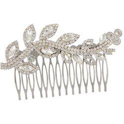 Socialize Womens Rhinestone Embellished Hair Comb