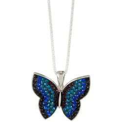 Wearable Art By Roman Butterfly Pendant & Necklace