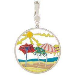 Leoma Lovegrove Gotcha Covered Beach Umbrella Pendant