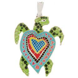 Leoma Lovegrove Seaheart Turtle Pendant
