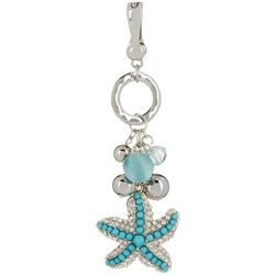 Wearable Art By Roman Bead Cluster & Starfish Pendant