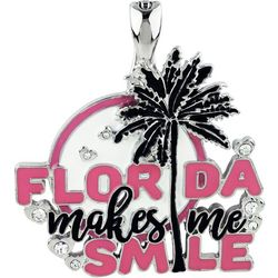 Wearable Art By Roman Florida Makes Me Smile Pendant