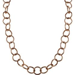 Wearable Art By Roman Rose Gold Tone Collar Necklace