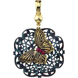 Wearable Art By Roman Filigree & Butterfly Pendant
