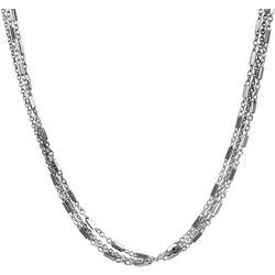 Wearable Art By Roman Triple Row Long Necklace