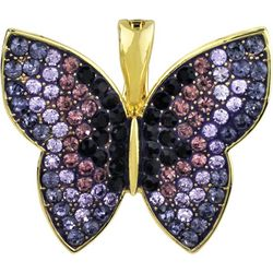 Wearable Art By Roman Purple Butterfly Pendant