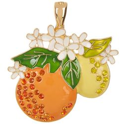 Wearable Art By Roman Florida Citrus Pendant