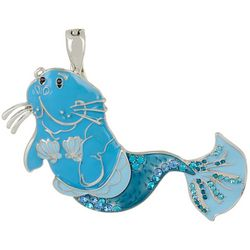 Wearable Art By Roman Miss Florida Manatee Pendant