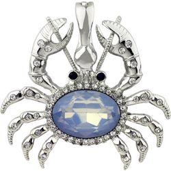 Wearable Art By Roman Coastal Crab Pendant