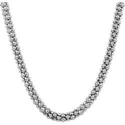 Wearable Art By Roman Silver Tone Lantern Chain Necklace