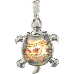 Wearable Art By Roman Abalone Turtle Pendant
