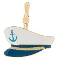 Wearable Art Boat Captain Cap Pendant
