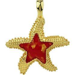 Wearable Art By Roman Textured Starfish Pendant