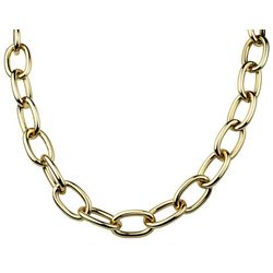 Wearable Art By Roman Gold Tone Oval Chain