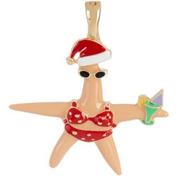 Wearable Art By Roman Florida Santa Helper Starfish