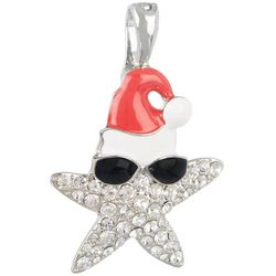 Wearable Art By Roman Florida Santa Starfish Pendant
