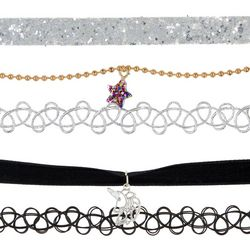 FAO SCHWARZ Girls 5-pc. Star & Unicorn Choker Necklace Set